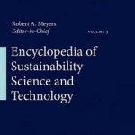 Encyclopedia of Sustainability Science and Technology
