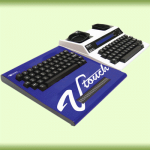 Krown Braille V Touch TTY – Allows the user to communicate with a relay operator