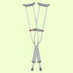 Guardian Red Dot Auxillary Crutches provide long wear and greater comfort