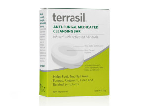 Terrasil Anti-Fungal Medicated Cleansing Bar