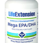 MEGA EPA/DHA Contains Twice As Much EPA And DHA Available In Fish Oil Capsules