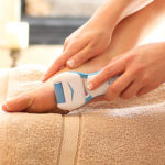 Pedispa Deluxe Quickly and Safely Buff Away Rough, Callused Skin on Feet!