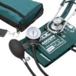 ADC Pro's Combo II Sphygmomanometer Sprague Rappaport Stethoscope Kit with Chrome-plated Deflation Valve