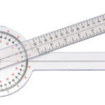 Grafco Orthopedic Goniometer is Laminated and Printing Will Not Scratch Off