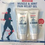 NatureWell Clinical Muscle & Joint Pain Relief Gel with Kava Extract Soothes Aching Muscles and Joints