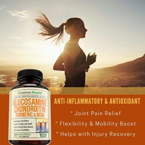 Glucosamine Chondroitin Turmeric MSM Boswellia - Joint Pain Relief