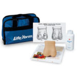Nasco's Life/form® Testicular Exam Simulator for the Female Breasts for Early Detection of Tumors