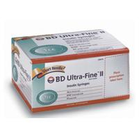 BD Ultra-Fine II Short Needle Insulin Syringe