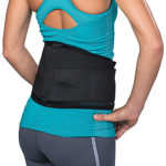 ComfortFORM Back Support for Lower-back Pain Promotes Proper Spine Alignment