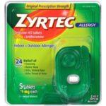 Zyrtec Prescription-Strength Allergy Medicine Tablets Relieve Your Worst Allergy Symptoms