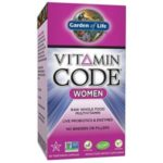 Garden of Life Multivitamin – Vitamin Code Women Raw Whole Food Vitamin Supplement
