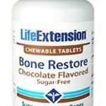Bone Restore Chewable Tablets with Calcium, Vitamin D3 for Strong, Healthy Bones