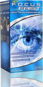 Focus Fast Memory Neuro Pill