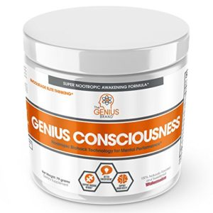 Genius Consciousness - Super Nootropic Brain Booster Supplement