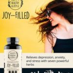 Joy-Filled 100% Plant-Based Supplement for Anxiety & Depression Relief