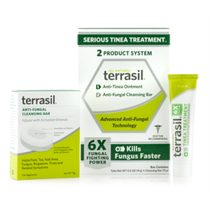 Terrasil Serious Tinea Treatment 2-Product System