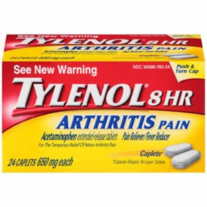 Tylenol 8 Hour Arthritis Pain Caplets