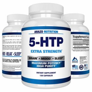 Arazo Nutrition 5-HTP 200 mg Supplement
