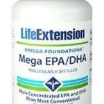Mega EPA/DHA Foundational Omega-3 Promotes Cardiovascular and Brain Health